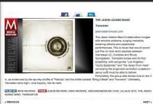 The Jason Adamo Band Garners Great Reviews