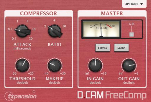 FXpansion releases DCAM FreeCom, a FREE Bus Compressor